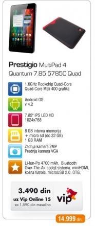 Tablet Multipad 4 Quantum 7.85 5785C Quad