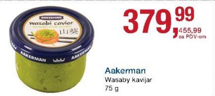 Kavijar wasabi