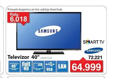 """Televizor TV 40"""" Smart LED UE40F5300"""