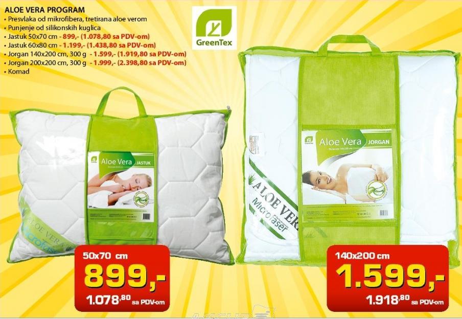 Jastuk 50x70 GreenTex