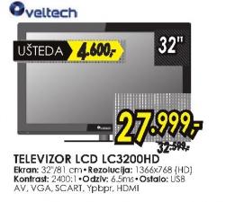 Televizor VELTECH LCD LC3200HD