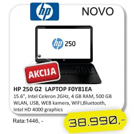 Laptop 250 G2 F0y81ea