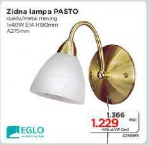 Zidna lampa Pasto