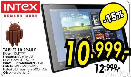 Tablet 10 Spark Intex