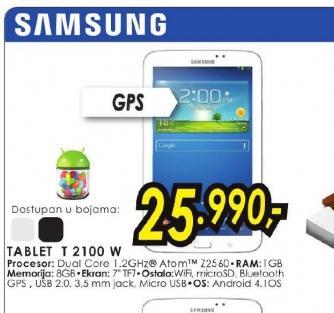 Tablet Galaxy Tab 3 T 2100