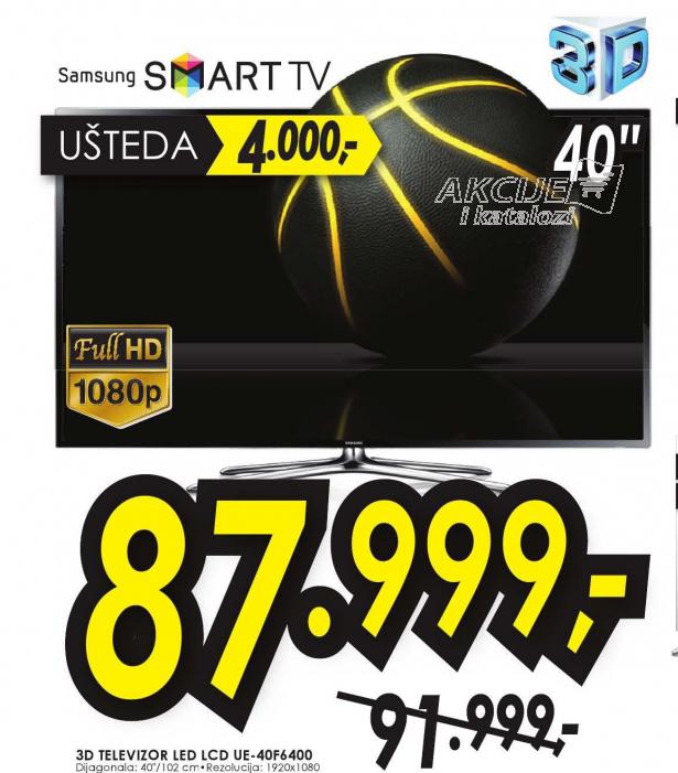 Televizor 3D LED LCD UE-28F4000