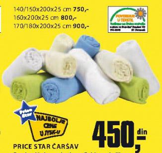 Čaršav Price Star