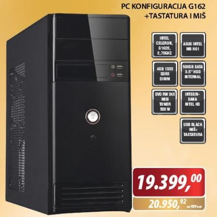 PC konfiguracija G162