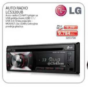 Auto Radio Lcs320Ub