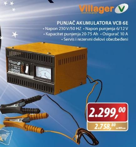 Punjač akumulatora VCB 6E