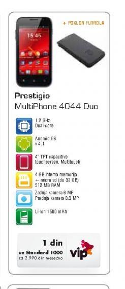 Mobilni telefon 4044 Duo