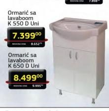 Ormarić sa lavaboom K 550