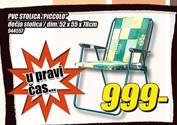 Stolica PVC Piccolo