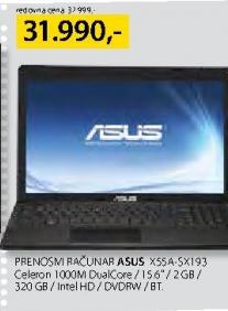 Prenosivi računar X55A-5X193