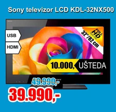 Televizor LCD KDL-32NX500AEP
