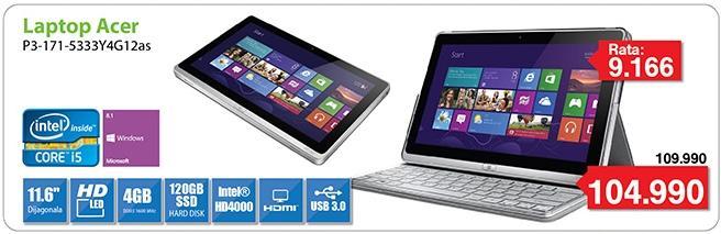 Laptop P3-171-5333Y4G12as