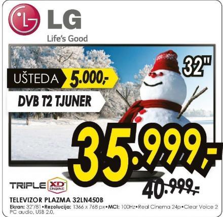 Televizor plazma 32LN450B