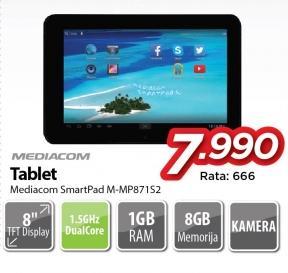 Tablet SmartPad M-871s2Mp Mediacom