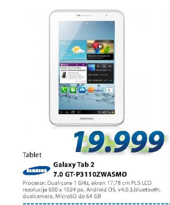Tablet PC GT-P3110ZWASMO