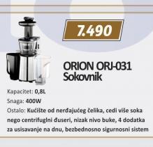 Sokovnik ORJ-031