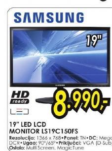 LED LCD monitor LS19C150FS