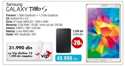Tablet Galaxy Tab S