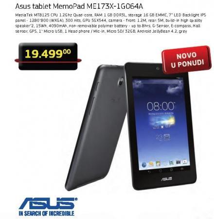 Tablet MemoPad Me173x-1g064a
