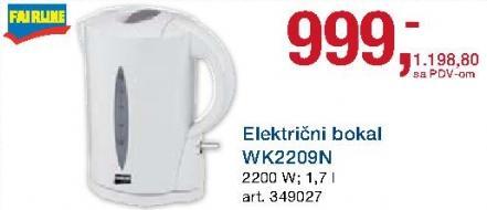 Električni bokal Wk2209n