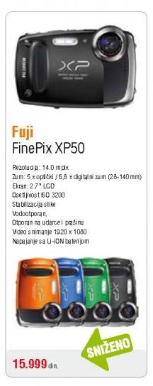 Fotoaparat XP50