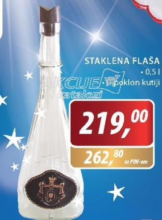 Staklena flaša