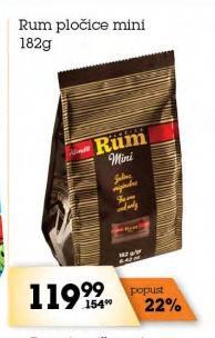 Čokoladica rum mini