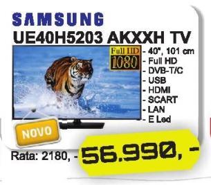 """Televizor LED 40"""" Ue40h5203 Akxxh"""