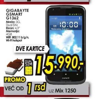 Mobilni telefon GSmart G1362