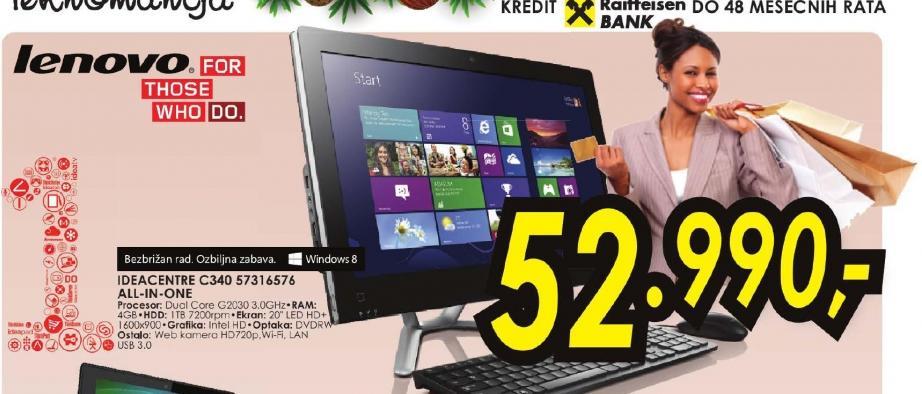 Laptop IdeaCentre C340