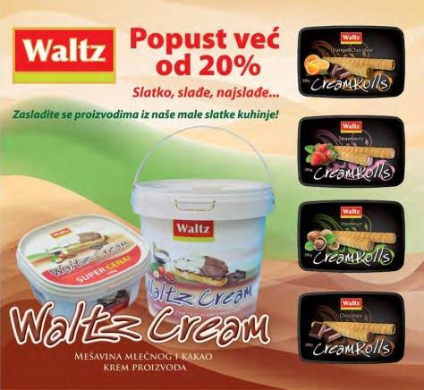 Waltz krem proizvodi na popustu