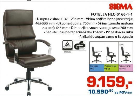 Fotelja HLC-0166-1-1