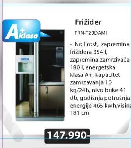 Frižider FRN-T20DAMI