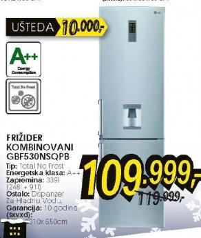 frižider kombinovani GBF530NSQPB
