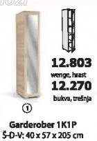Garderober 1k1p