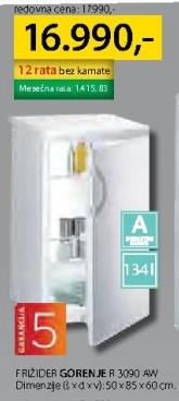 Frižider R 3090 AW
