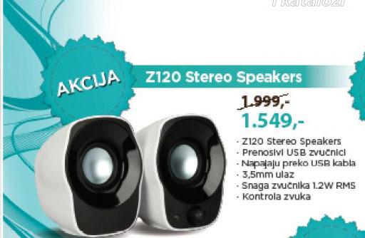 Zvučnici Z120