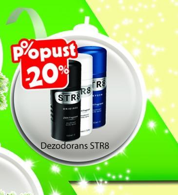 - 20% Dezodorans STR8