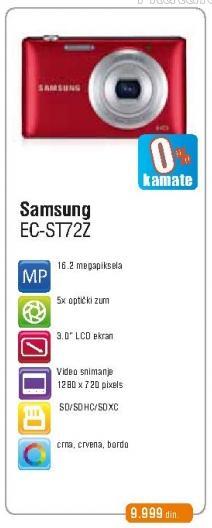 Digitalni fotoaparat Ec-St72z