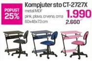 Kompjuter sto CT-2727x, dečija soba