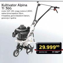 Kultivator Alpina TI 36G