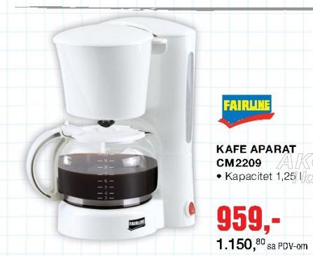 Kafe aparat CM2209