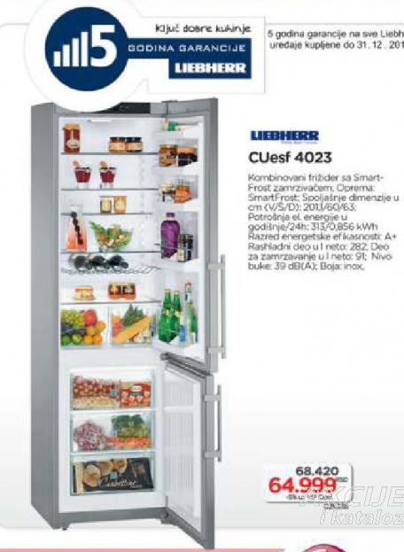FRIŽIDER CUESF 4023