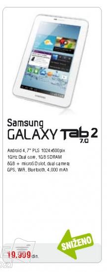 Tablet Galaxy Tab 2 3110