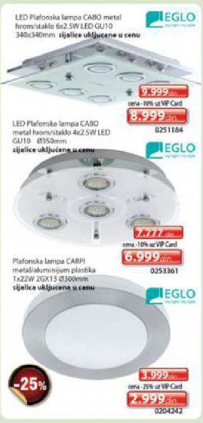 LED Plafonska lampa Cabo