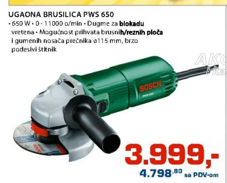 Ugaona Brusilica Pwx 650